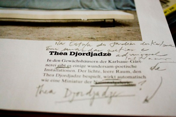 thea Djordjadze documenta