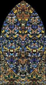 mosaicos com borboletas